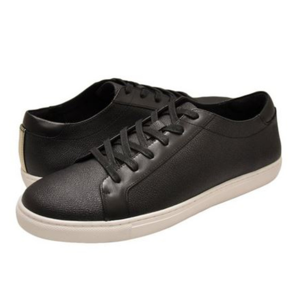 Kenneth Cole Mens Kam Black Sneaker